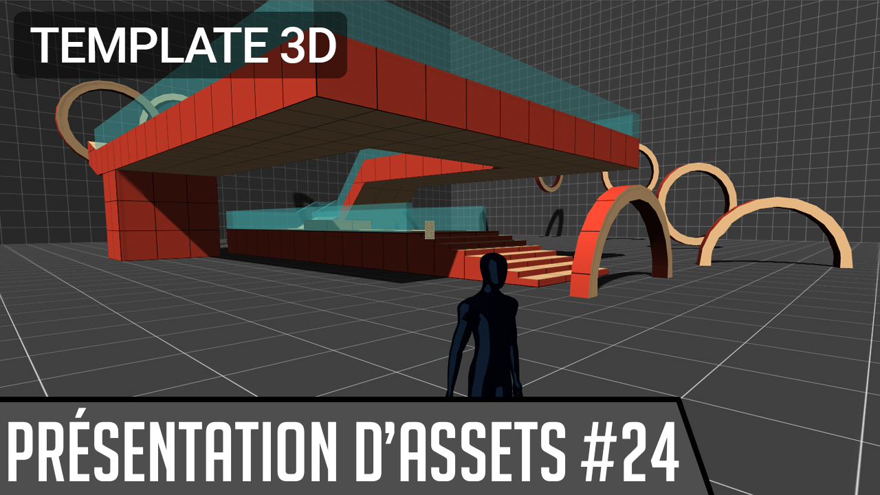 asset 3rd Person Controller + Fly Mode pour unity 3D