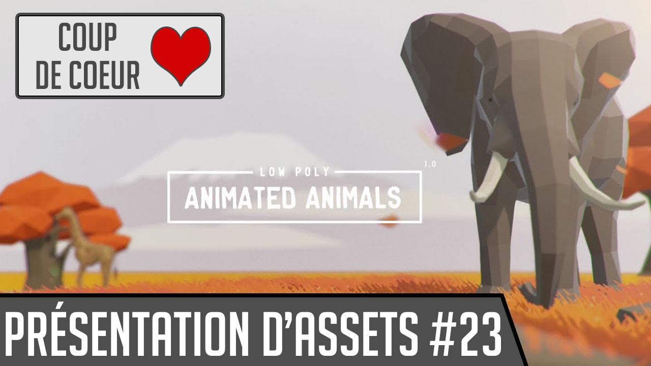 Animated low poly animals asset store unity