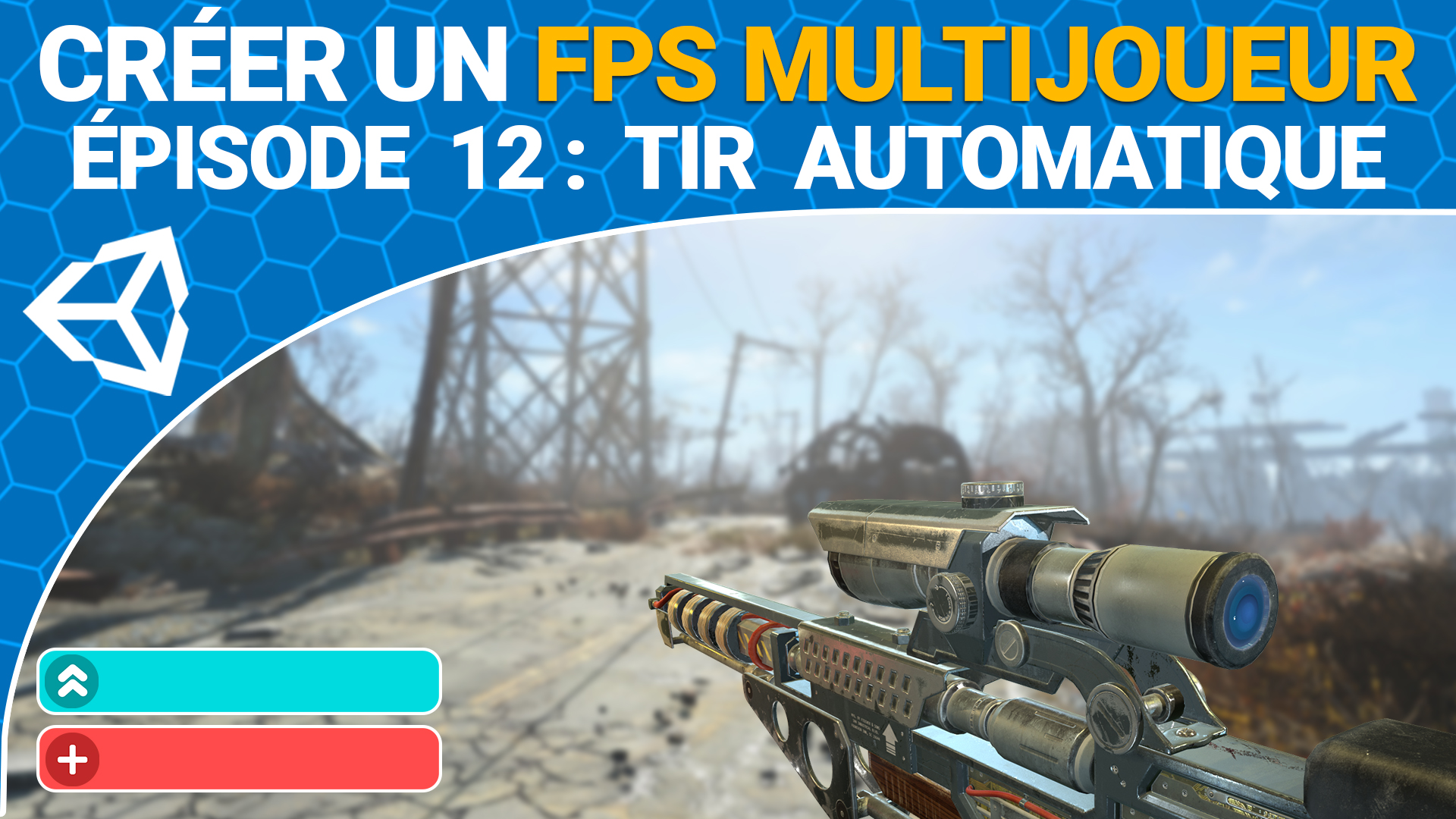 episode 12 fps : tir automatique unity 3d