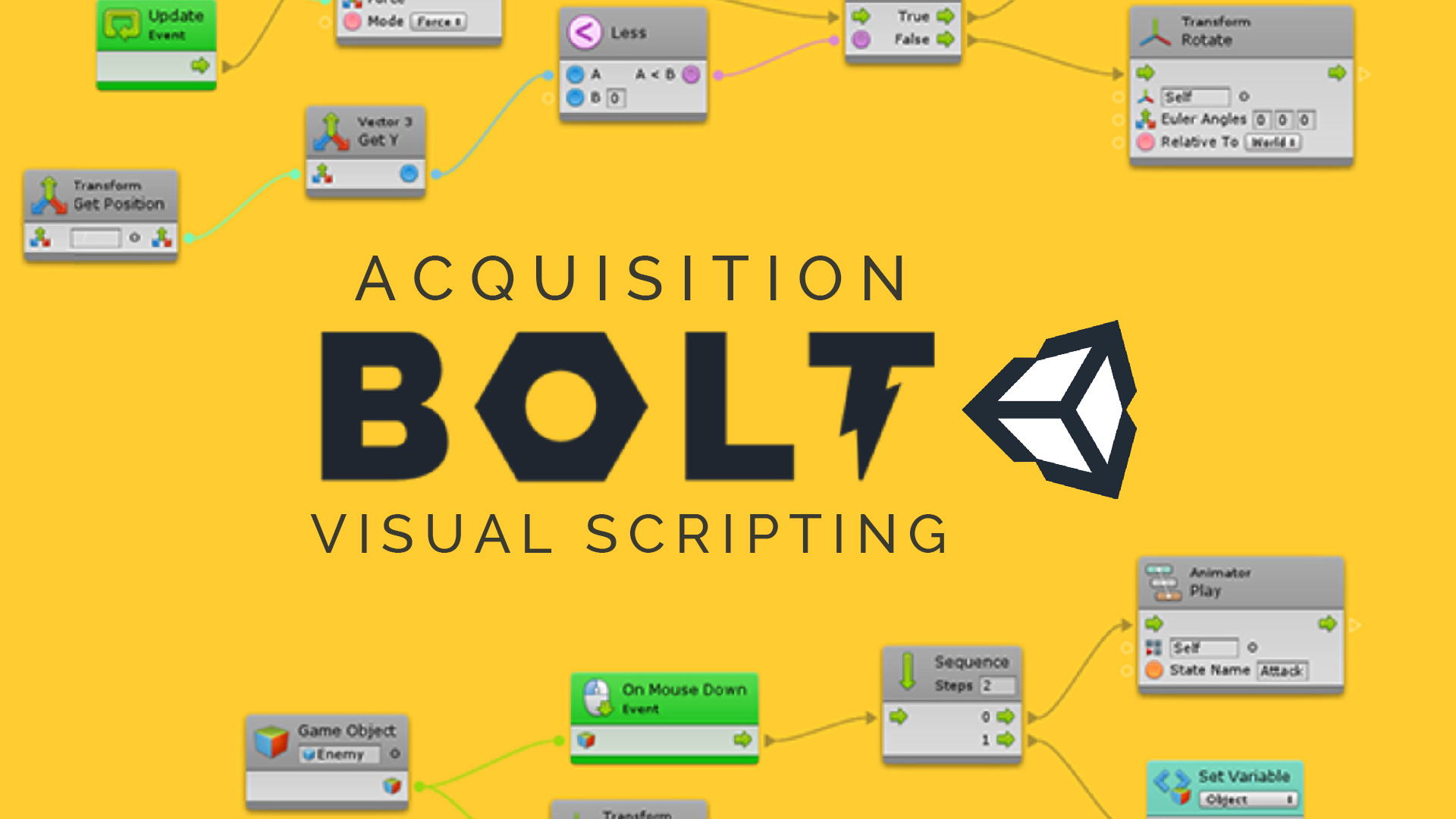Acquisition de Bolt par Unity
