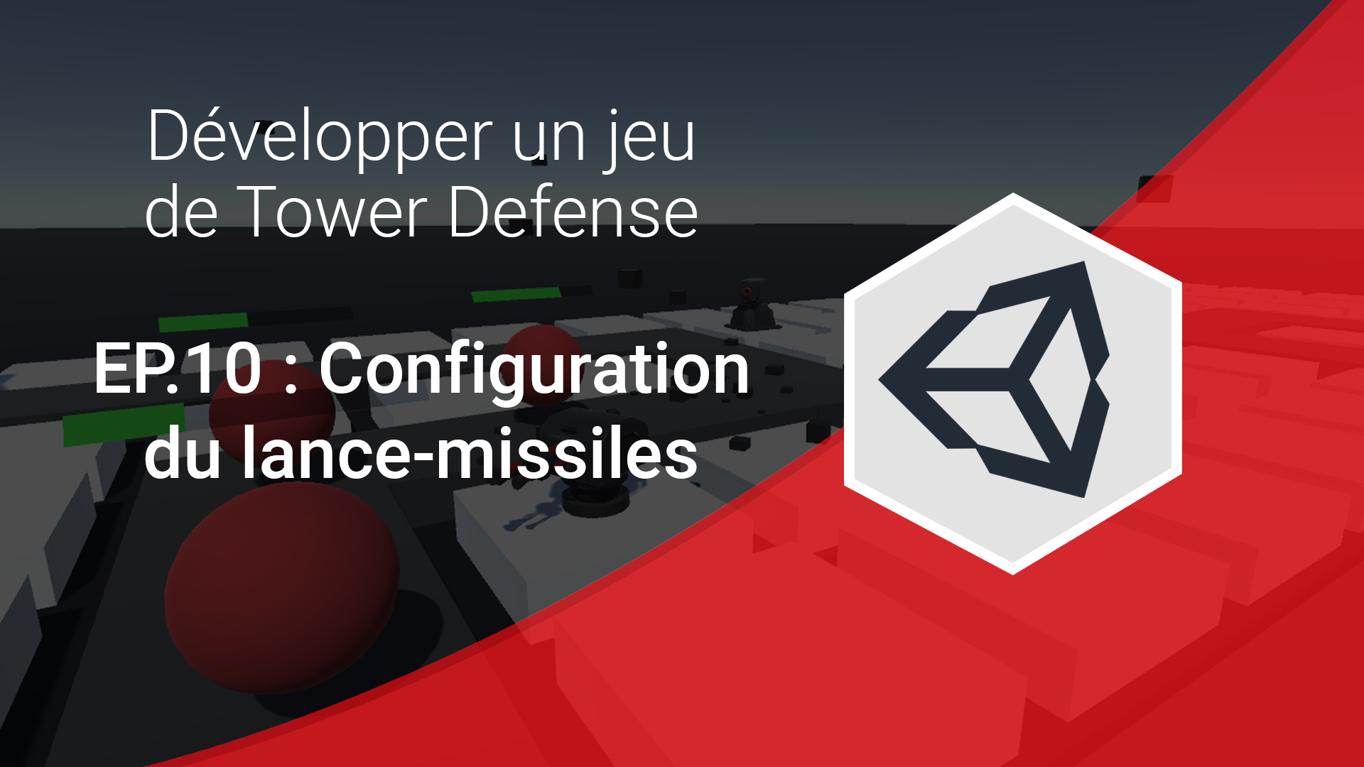 configuration du lance-missiles (série de tutoriels tower defense unity 3d)