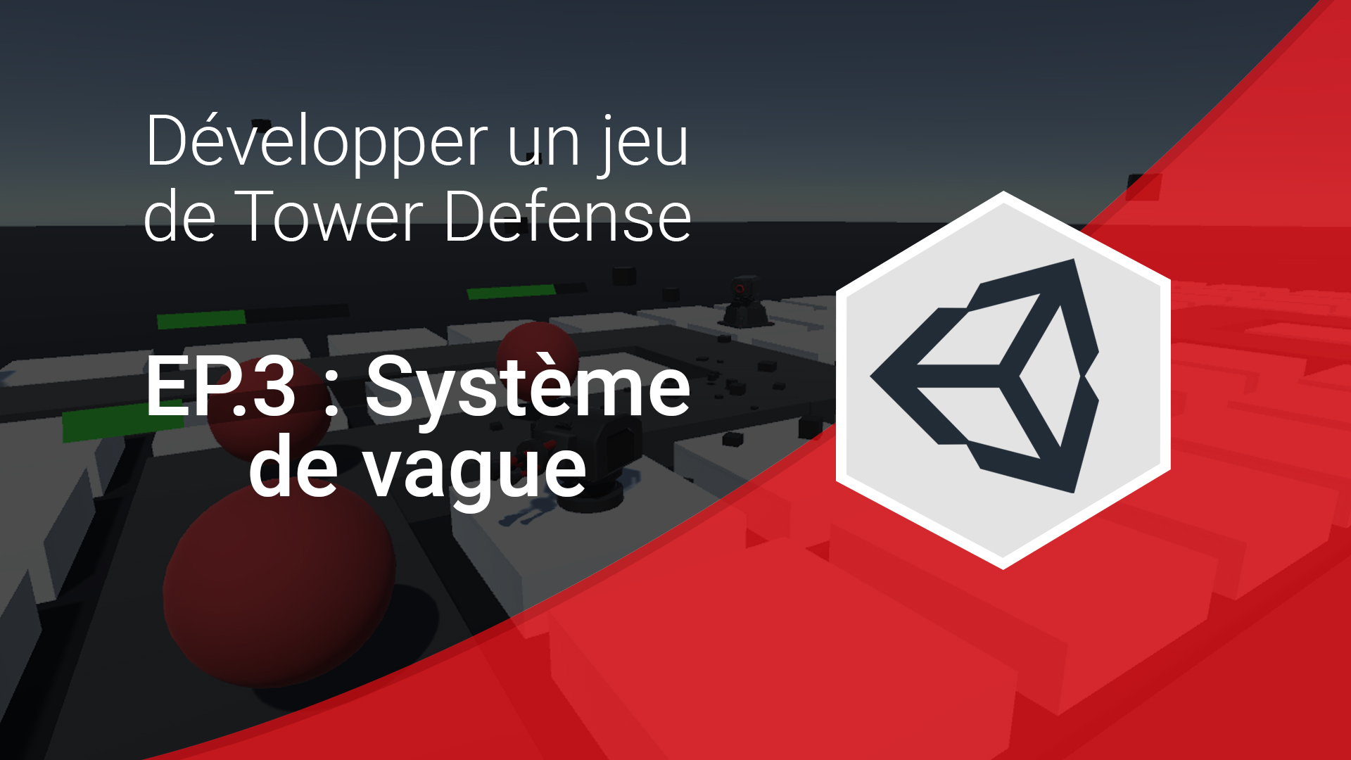 Système de vague tower defense unity 3d