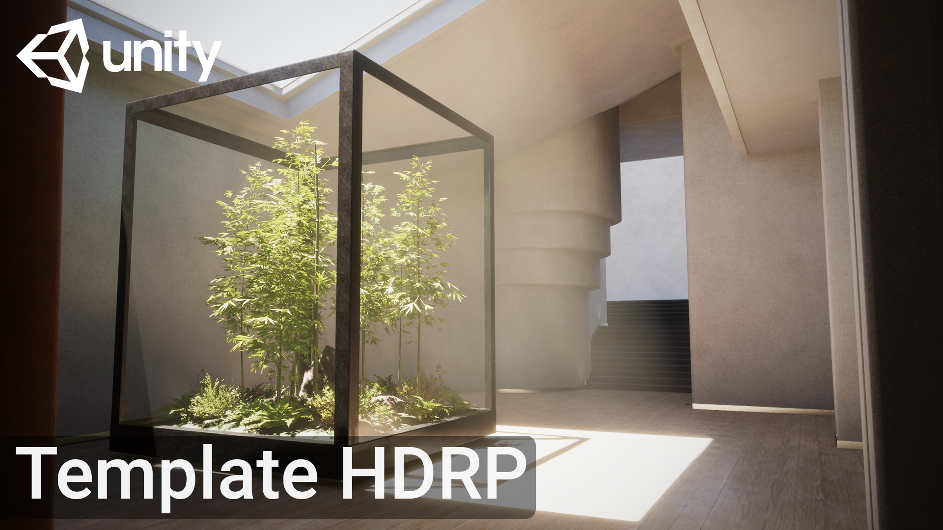 hdrp template unity officiel 2021